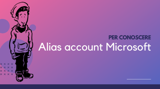 Alias dell account Microsoft
