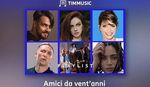 20 anni Amici playlist