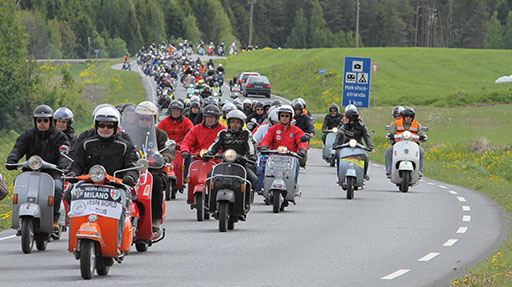 Vespa World Days, in Ungheria il raduno mondiale