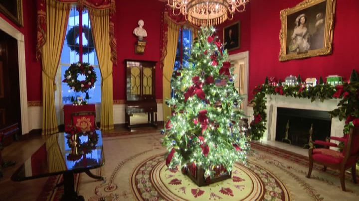 'America the Beautiful', decorazioni di Natale alla Casa bianca