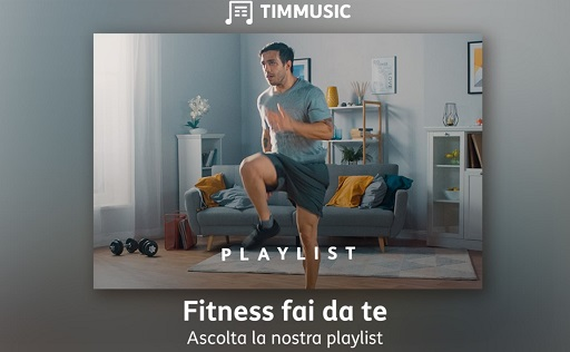 Fitness fai da te playlist TIMMUSIC