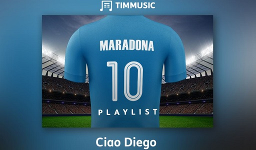 Maradona playlist TIMMUSIC