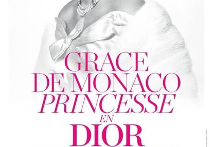 Grace Kelly in mostra a casa Christian Dior