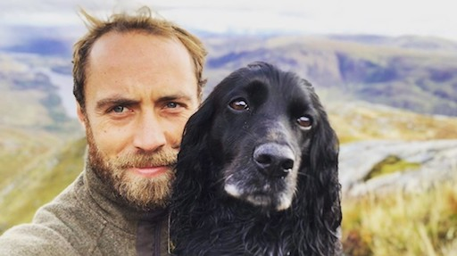 James Middleton e la nuova vita in Scozia