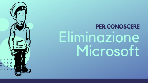 Come eliminare un account Microsoft
