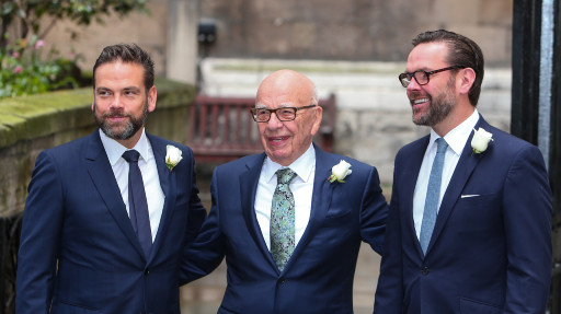 Le dimissioni di James Murdoch da News Corporation