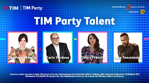 Torna TIM Party con la seconda edizione del web talent