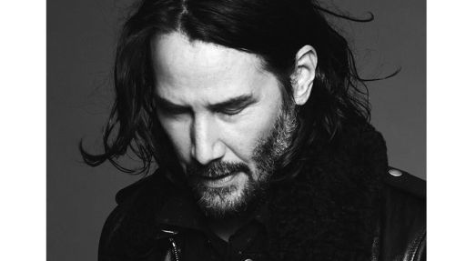Keanu Reeves,a 54 anni in posa per Yves Saint Laurent