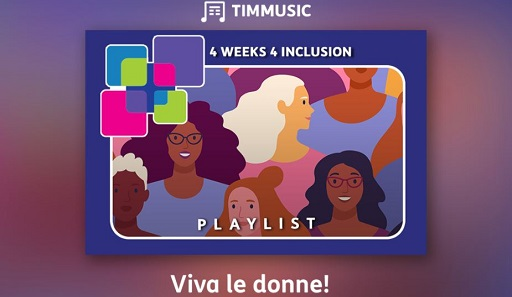 Viva le donne playlist TIMMUSIC