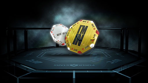 Via alle Ufc e PokerStars Octagon Chip