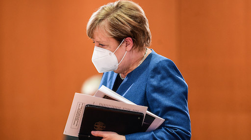 Angela Merkel, cancelliera della Germania