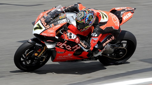 Sbk: Chaz Davies (Ducati) ha vinto Gara 2 all'Estoril