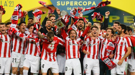 L'Athletic Bilbao ha vinto la Supercoppa